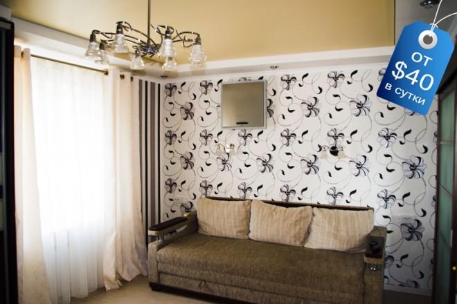 Шикарная 2х-комнатная квартира с великолепным видом из окна