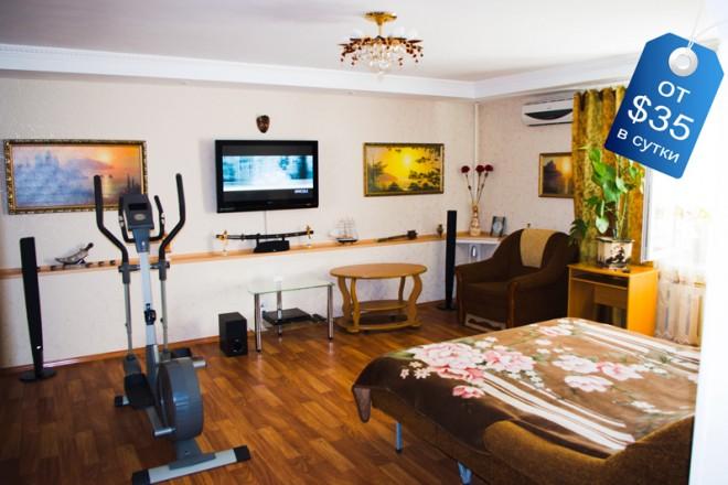 2х комнатная квартира с домашним кинотеатром и отличным ремонтом